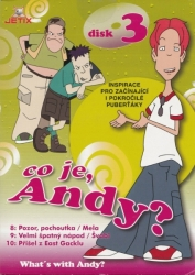 Co je, Andy? (Disk 3), DVD